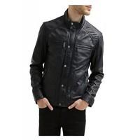 Laverapelle Men's Genuine Lambskin Leather Jacket (Fencing Jacket) - 1501482