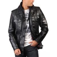 Laverapelle Men's Genuine Lambskin Leather Jacket (Regal Jacket) - 1501107