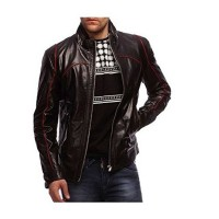 Laverapelle Men's Genuine Lambskin Leather Jacket (Racer Jacket) - 1501441