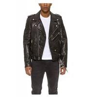 Laverapelle Men's Genuine Lambskin Leather Jacket (Double Rider Jacket) - 1501115