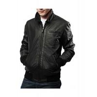 Laverapelle Men's Genuine Lambskin Leather Jacket (Bomber Jacket) - 1501446