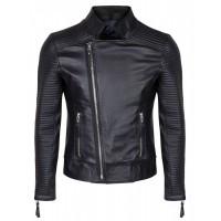 Laverapelle Men's Genuine Lambskin Leather Jacket (Fencing Jacket) - 1501118