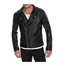 Laverapelle Men's Genuine Lambskin Leather Jacket (Rocker Jacket) - 1501453