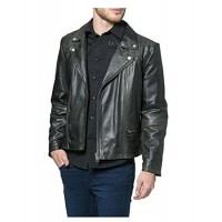 Laverapelle Men's Genuine Lambskin Leather Jacket (Double Rider Jacket) - 1501120