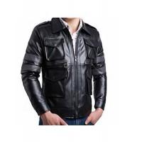 Laverapelle Men's Genuine Lambskin Leather Jacket (Field Jacket) - 1501127