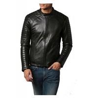Laverapelle Men's Genuine Lambskin Leather Jacket (Fencing Jacket) - 1501417