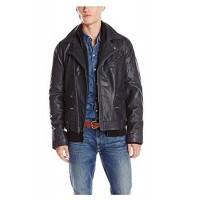 Laverapelle Men's Genuine Lambskin Leather Jacket (Double Rider Jacket) - 1501131