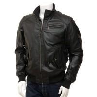 Laverapelle Men's Genuine Lambskin Leather Jacket (Bomber Jacket) - 1501467