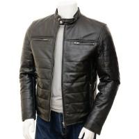 Laverapelle Men's Genuine Lambskin Leather Jacket (Racer Jacket) - 1501139