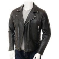 Laverapelle Men's Genuine Lambskin Leather Jacket (Double Rider Jacket) - 1501429