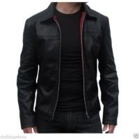 Laverapelle Men's Genuine Lambskin Leather Jacket (Aviator Jacket) - 1501267