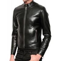 Laverapelle Men's Genuine Lambskin Leather Jacket (Racer Jacket) - 1501203