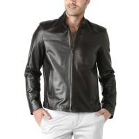 Laverapelle Men's Genuine Lambskin Leather Jacket (Racer Jacket) - 1501212