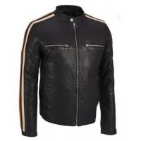 Laverapelle Men's Genuine Lambskin Leather Jacket (Racer Jacket) - 1501485