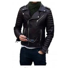Laverapelle Men's Genuine Lambskin Leather Jacket (Double Rider Jacket) - 1501474