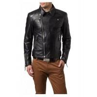 Laverapelle Men's Genuine Lambskin Leather Jacket (Fencing Jacket) - 1501477