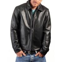 Laverapelle Men's Genuine Lambskin Leather Jacket (Aviator Jacket) - 1501497