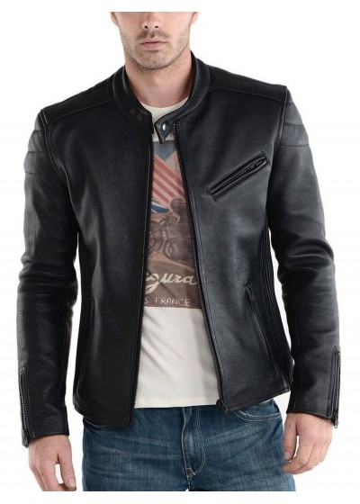 Laverapelle Men's Genuine Lambskin Leather Jackets - 1510008