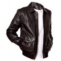 Laverapelle Men's Genuine Lambskin Leather Jacket (Aviator Jacket) - 1501644