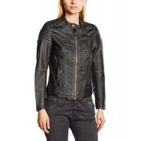 Laverapelle Women's Genuine Lambskin Leather Jacket (Fencing Jacket) - 1521745