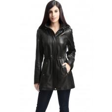 Laverapelle Women's Genuine Lambskin Leather Coat - 1510684