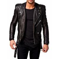 Laverapelle Men's Genuine Lambskin Leather Jackets - 1510532