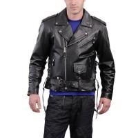 Laverapelle Men's Genuine Lambskin Leather Jacket (Double Rider Jacket) - 1501561