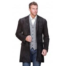 Laverapelle Men's Genuine Cowhide Leather Coat - 1510302