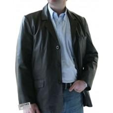 Laverapelle Men's Genuine Lambskin Leather Coat (Blazer Coat) - 1502834